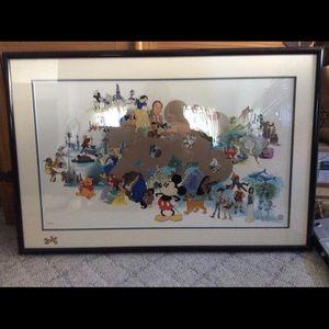Limited edition Disney print